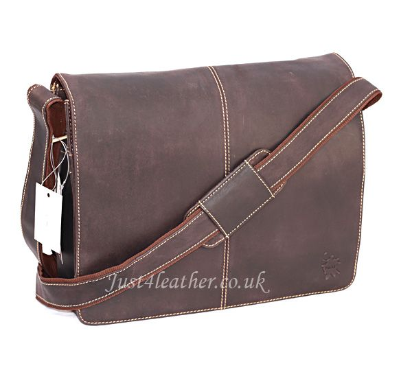 Brown Leather Messenger Bag Click Here to Shop http://www.tuccipolo.com/for-men/mens-leather-bags