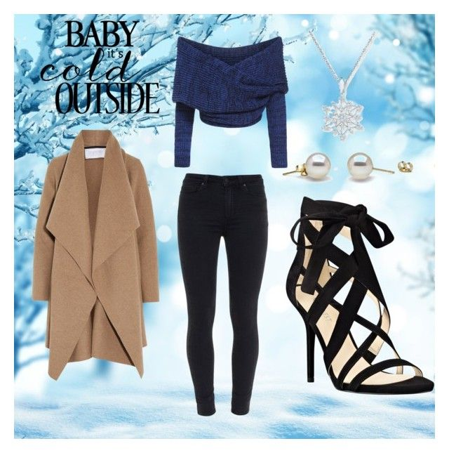 Winter by haylie1kat on Polyvore featuring polyvore, fashion, style, Harris Wharf London, Paige Denim and Nine West