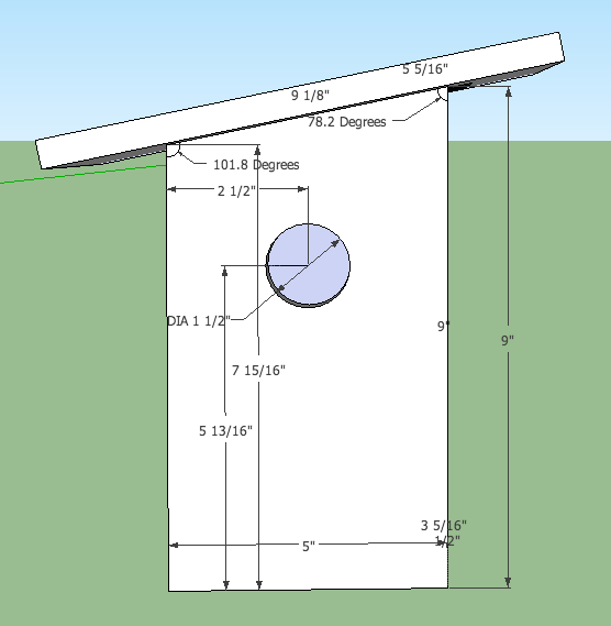 good sparrow birdhouse plans #1: I looked into the plans of a bird box appropriate for a house sparrow to  nest