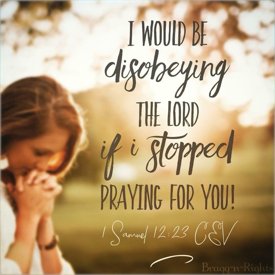 1 Samuel 12 23 Soul Food Pray Food