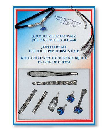 Another great find on #zulily! Horse Hair Jewelry Kit #zulilyfinds