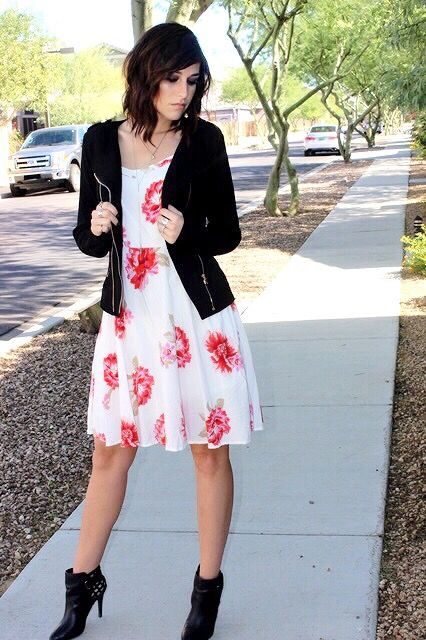 Floral Sundress: Transitioning into Spring! On the blog!