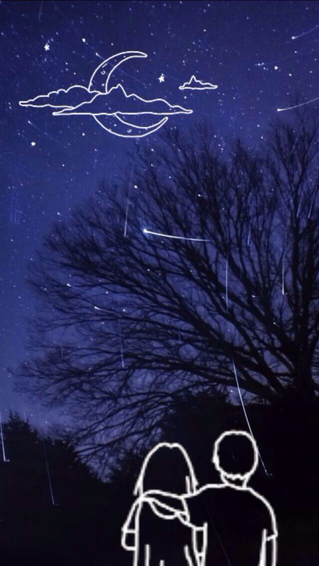 Iphone wallpaper - star gazing