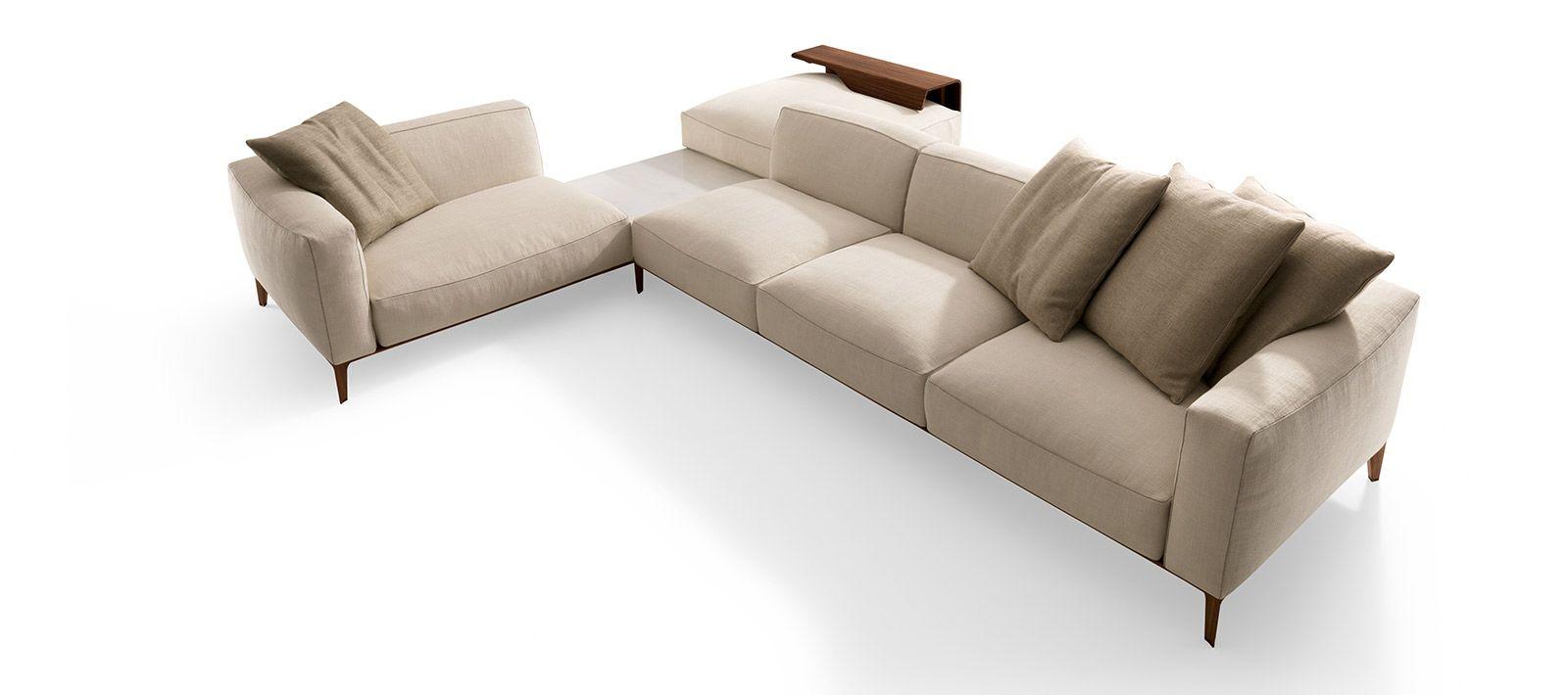 Aton Sectional Sofa, Furniture, Luxury
