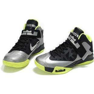 7aec9a310ca2 http   www.asneakers4u.com  Nike Zoom Zoom LeBron Soldier 6 VI Black ...