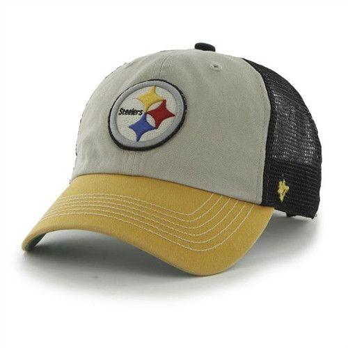 pretty nice 72d94 46508 Pittsburgh Steelers  47 Brand Mesh Hat