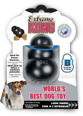 Dog Toys Rubber And Plastic Kong Extreme Medium Kong