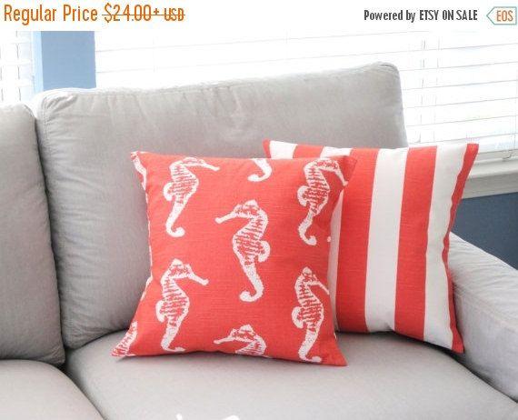Pillow Cover Beach Decor Decorative Throw Pillows