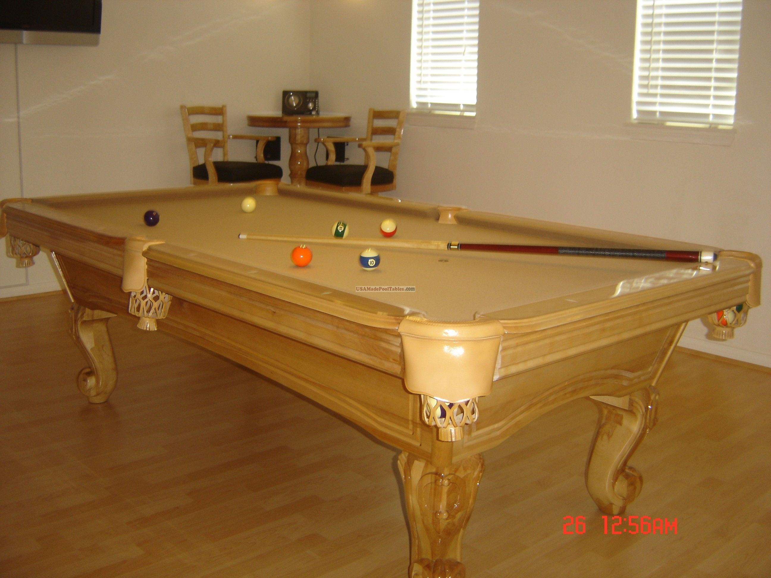 Maple Pool Table POOL TABLES POOL TABLE Garibaldi Pinterest - Pool table refelting san diego