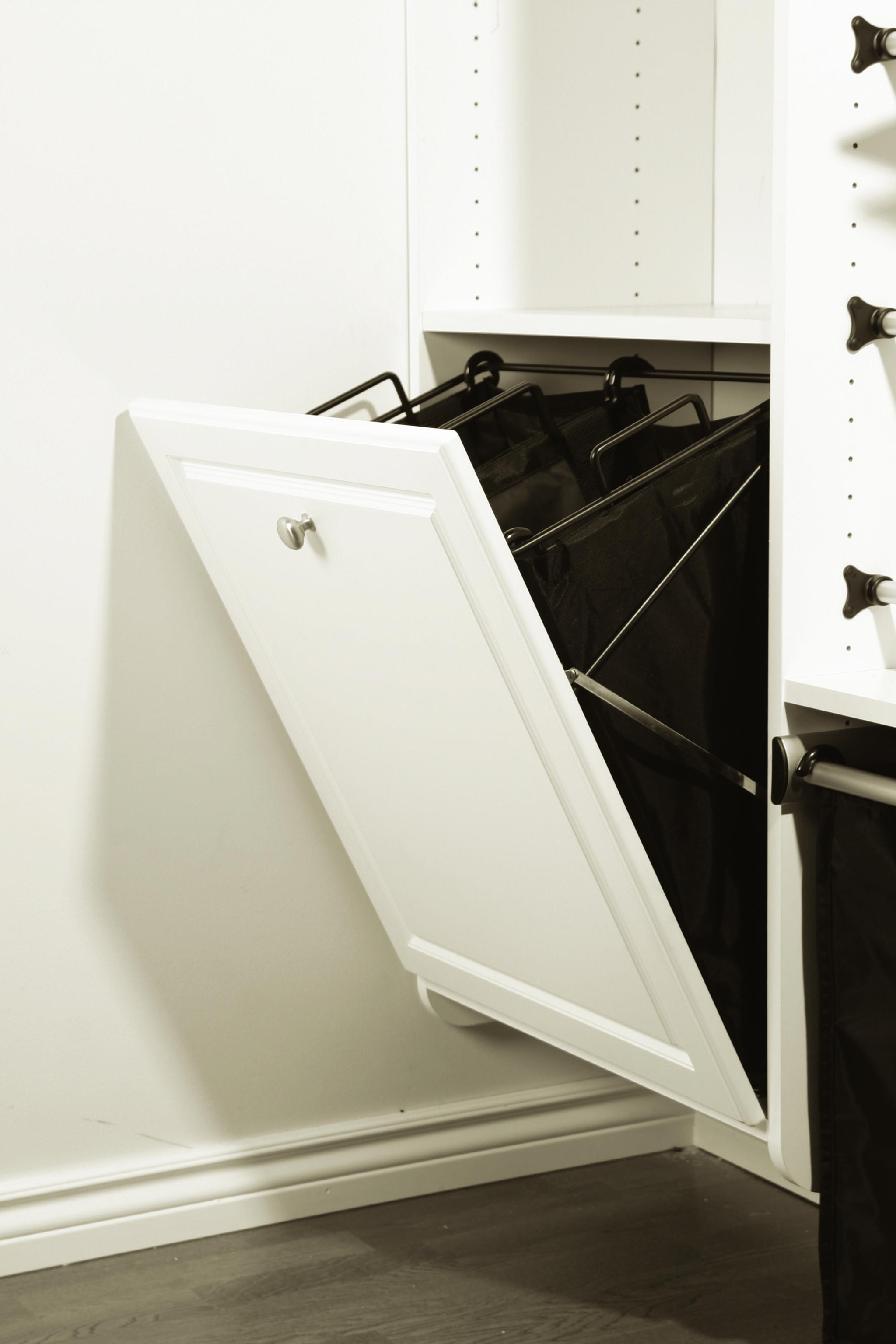 Built in hamper Closets by Design