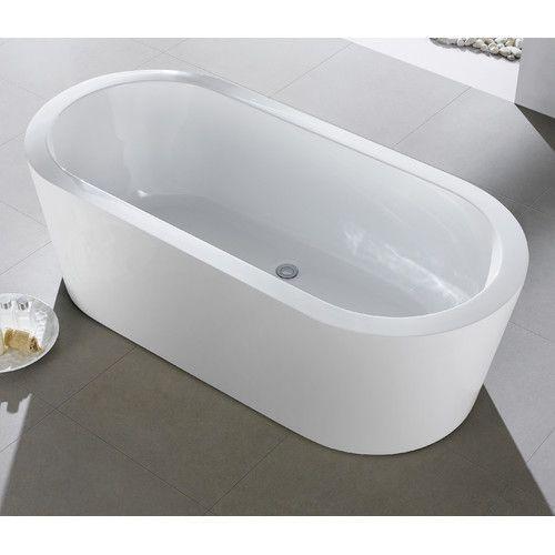 Ramo 58 X 29 Freestanding Bathtub Soaking Bathtubs Bathtub Tub