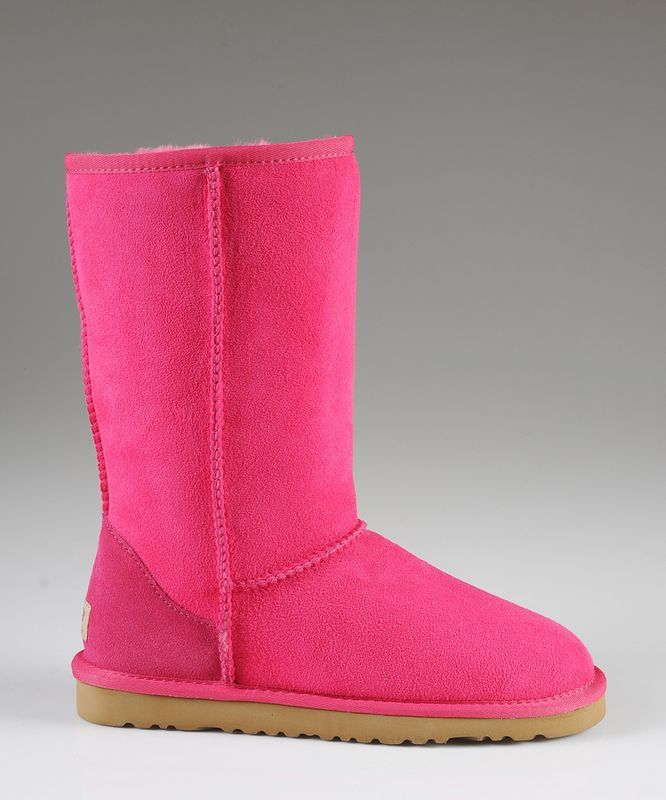 ugg rouge pas cher