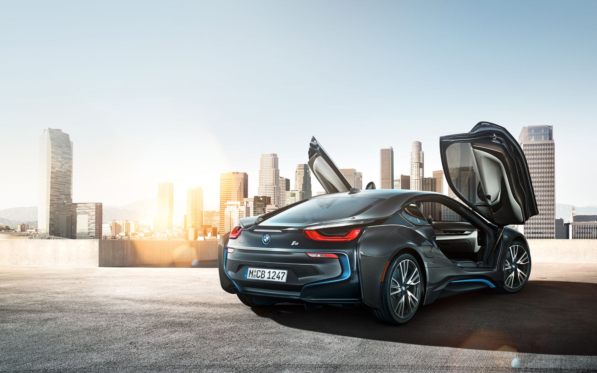 With Scissor Doors That Glide Upward When Opened And Blend Perfectly When Closed The Sporty Character Of The Bmw I8 Is Immediately Recognizable Bmw
