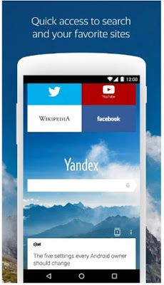 Yandex Browser Alpha APK for Android – Mod Apk Free Download For