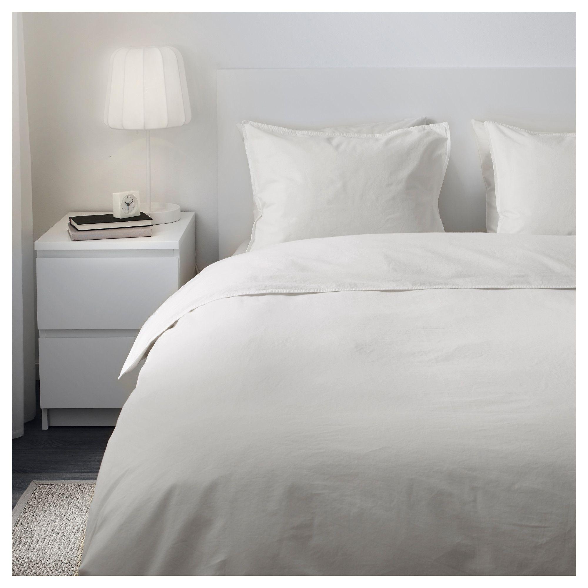 Angslilja Duvet Cover And Pillowcase S White Full Queen Double