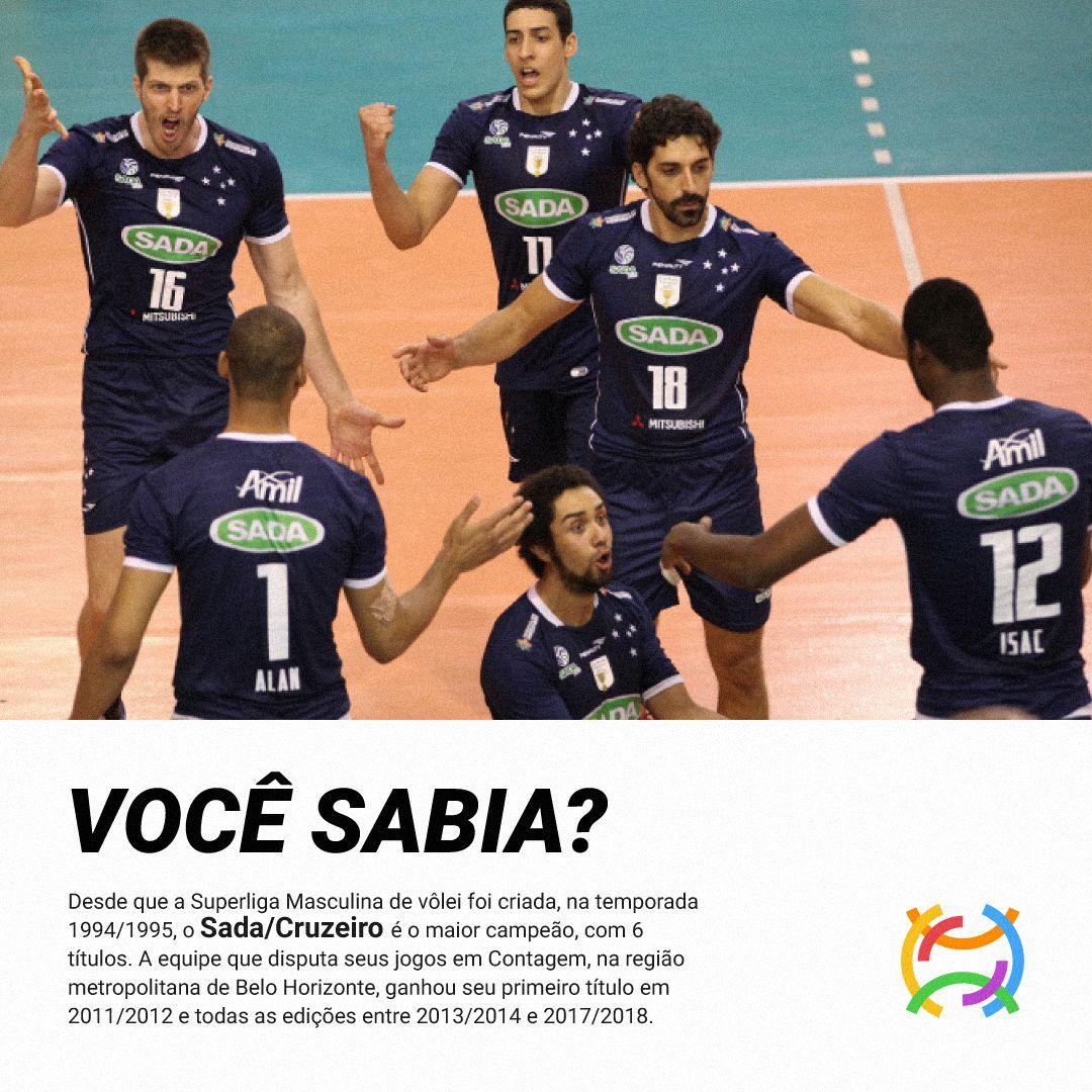 Superliga Masculina De Volei Volei Sada Cruzeiro Masculino