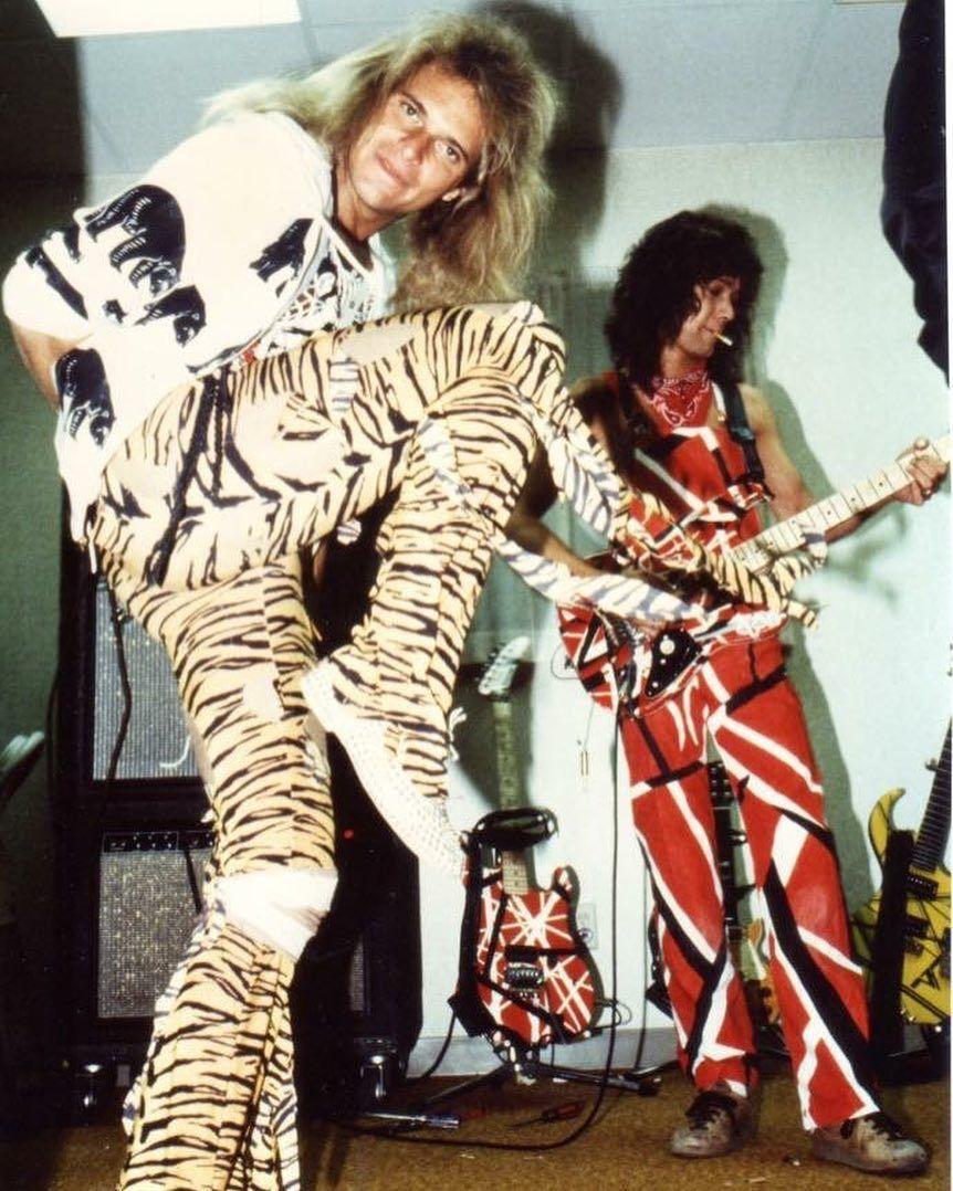 Pin By Reinhard Braunstein On My Noise Van Halen Eddie Van Halen David Lee Roth