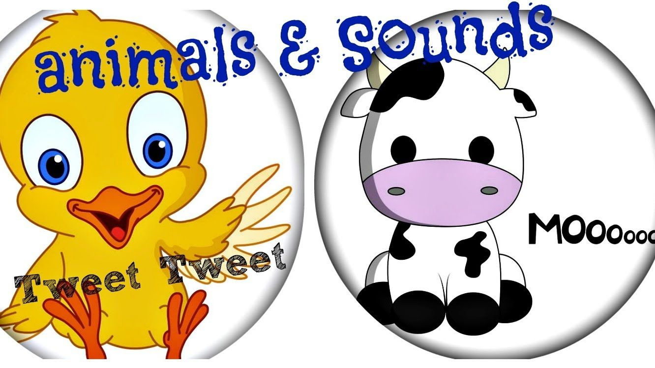 Nursery rhyme for toddlers 'animals and their sounds'
