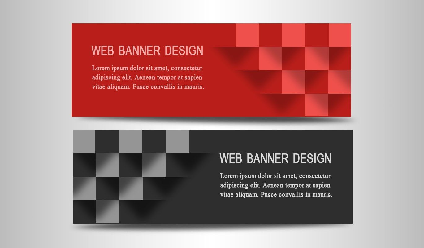 Photoshop tutorial web banner design 3d boxes website banner or advertising banner design photoshop tutorial this video tutorial is all about how to make a look design using adobe photoshop baditri Gallery