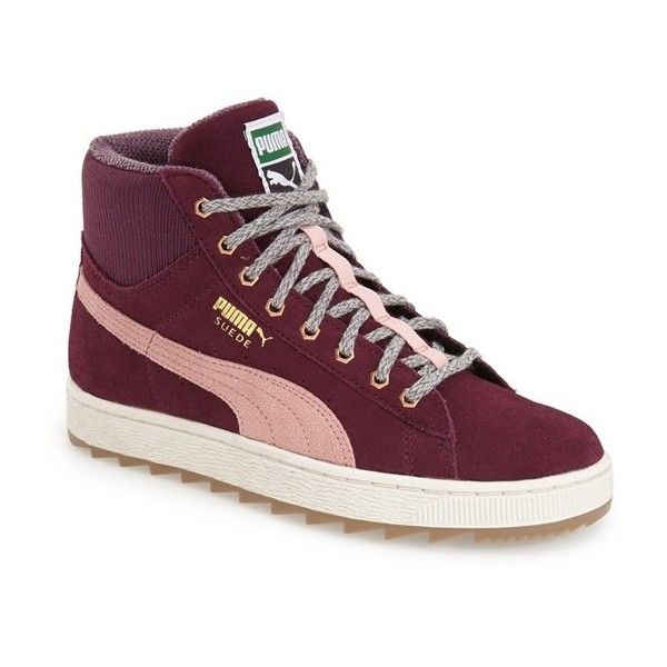 puma shoes suede high tops