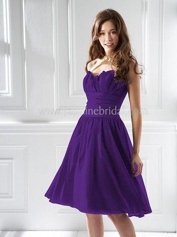 Bridesmaid Dress in Royal Purple! | Laura's Wedding | Pinterest ...