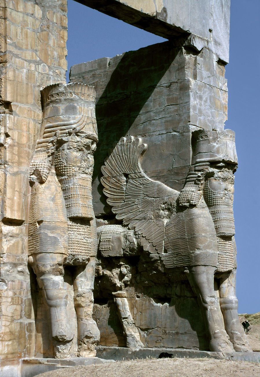 Gate Of All Nations Persepolis 550bce Shiraz Iran Ancient Persia Epic Of Gilgamesh Persian Empire