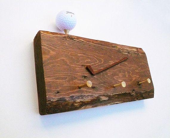 Handmade Key Rack Wood Key Holder Gift For Him by LeavesFromHeaven, $29.50