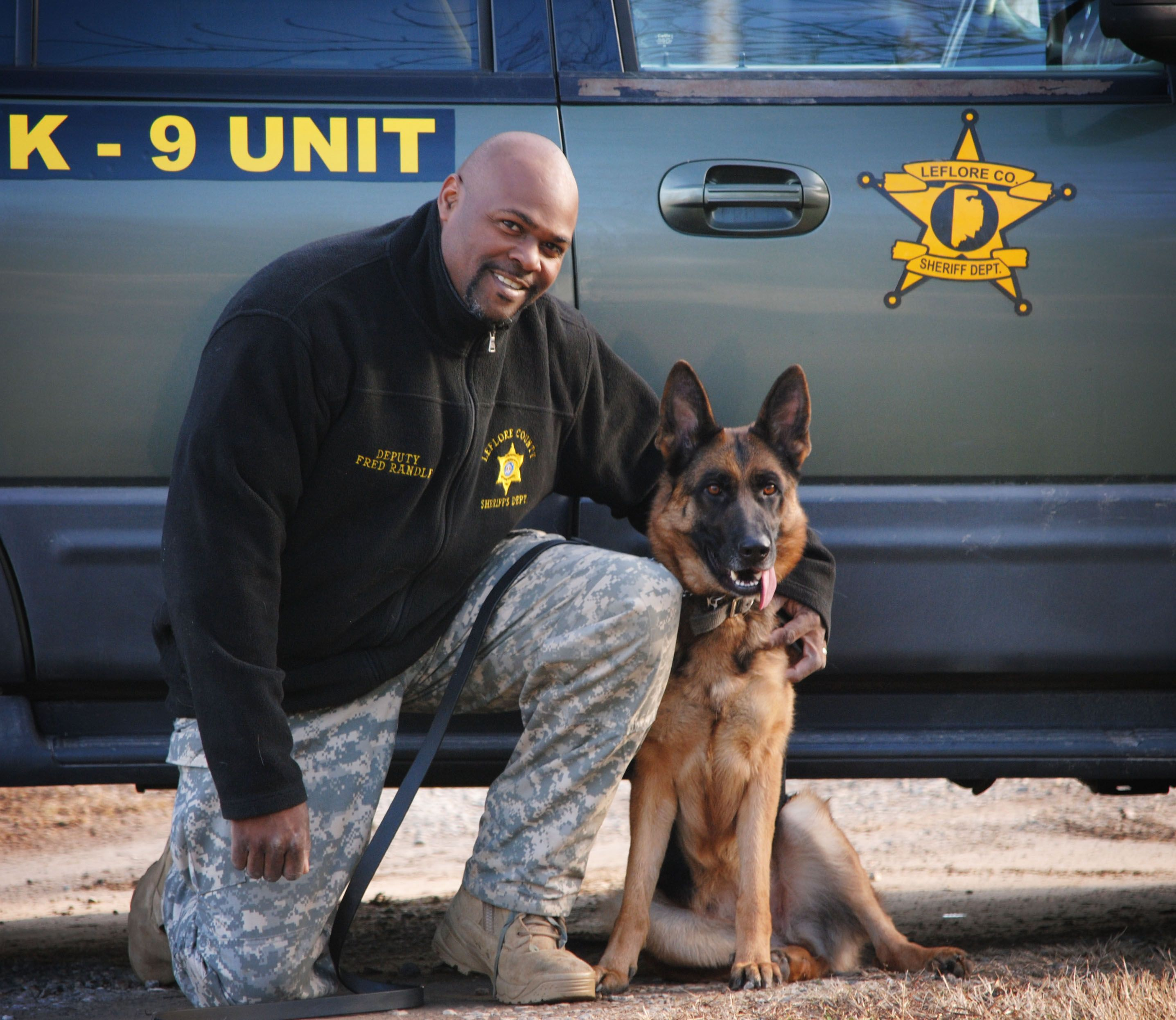 Officer Randle and K9 Elza certified at Highland Canine