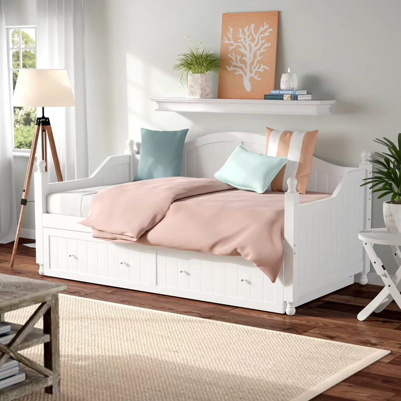 Pennrock Twin Daybed with Trundle in 2020 Twin daybed