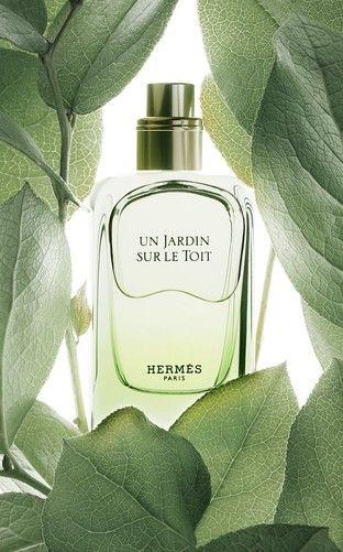 Hermes Un Jardin Sur Le Toit Perfume Perfume Bottles Cosmetic