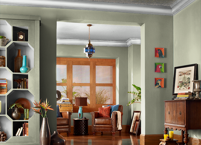 I Love This Color From Behr 174 I Found Sage Brush S370 3