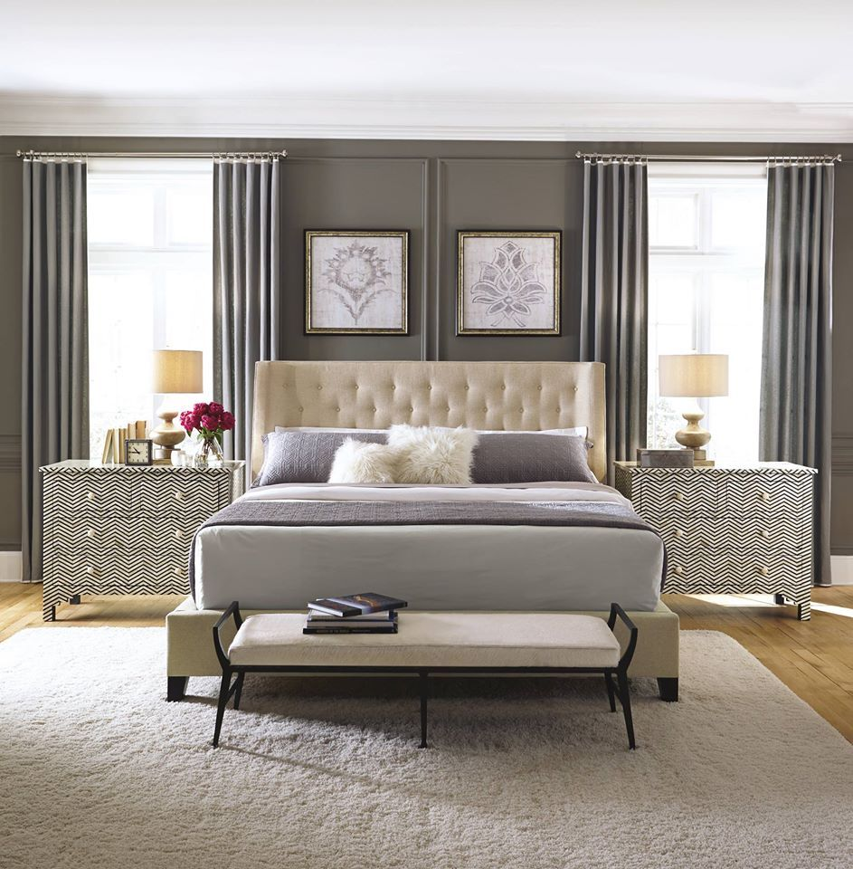 Best Gray Lavender Cream Bernhardt Furniture 640 x 480