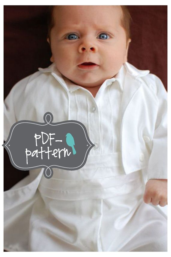 Small Baby Tuxedo PDF (INSTANT DOWNLOAD Sewing Pattern) on Etsy ...