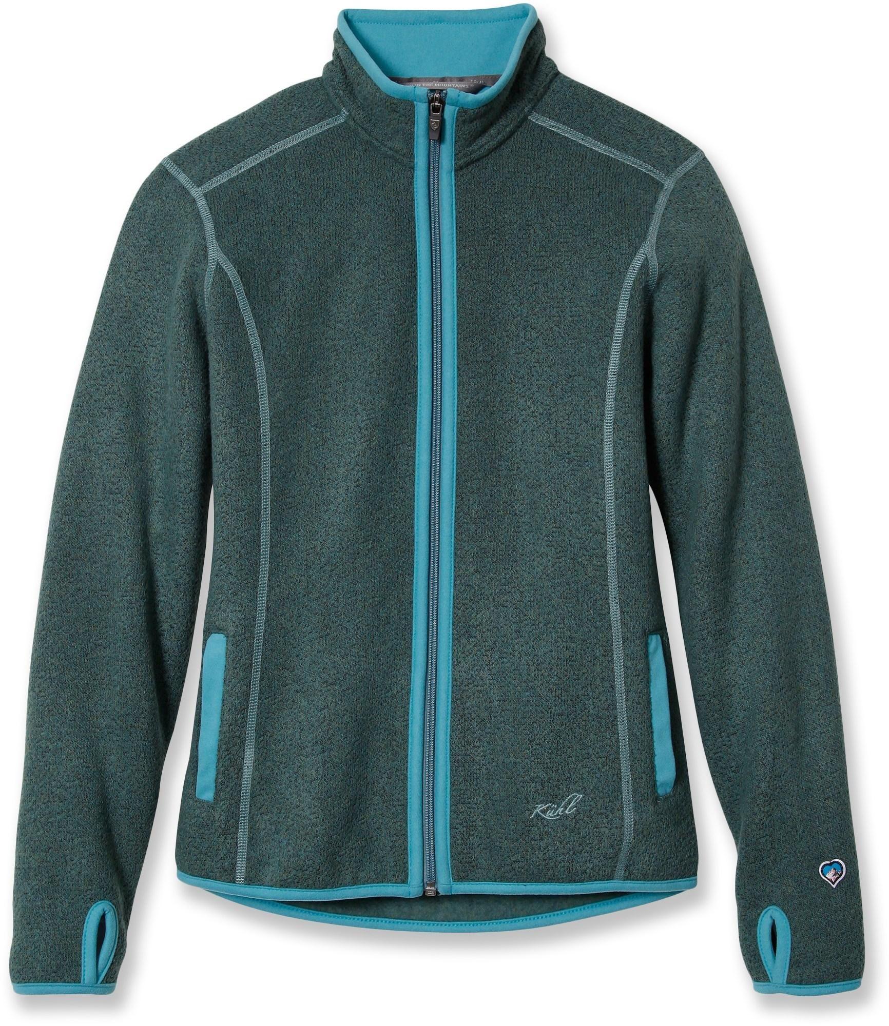 At rei outlet womenus kuhl tara fullzip sweater is a fleece jacket