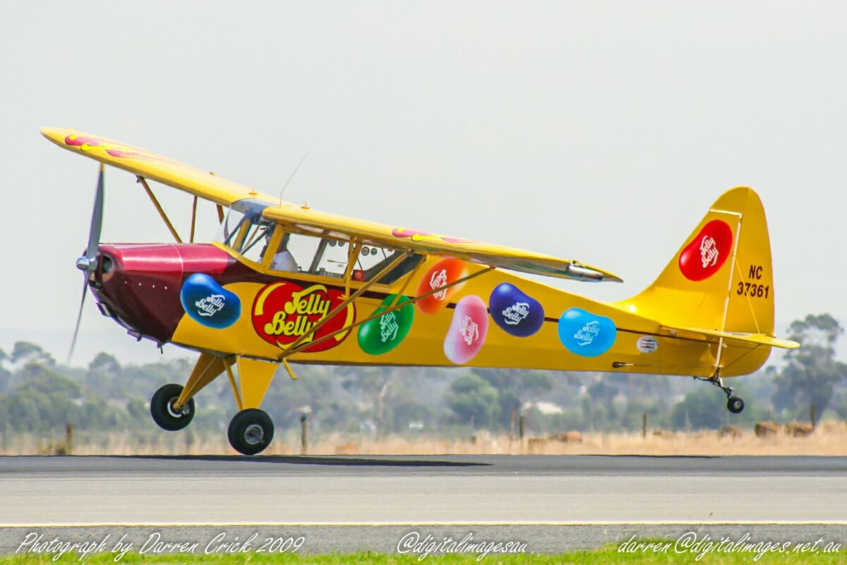 #JellyBelly was different to see at #Australian International #Airshow 2009. #avgeek #aviation  #canon Jelly Belly UK