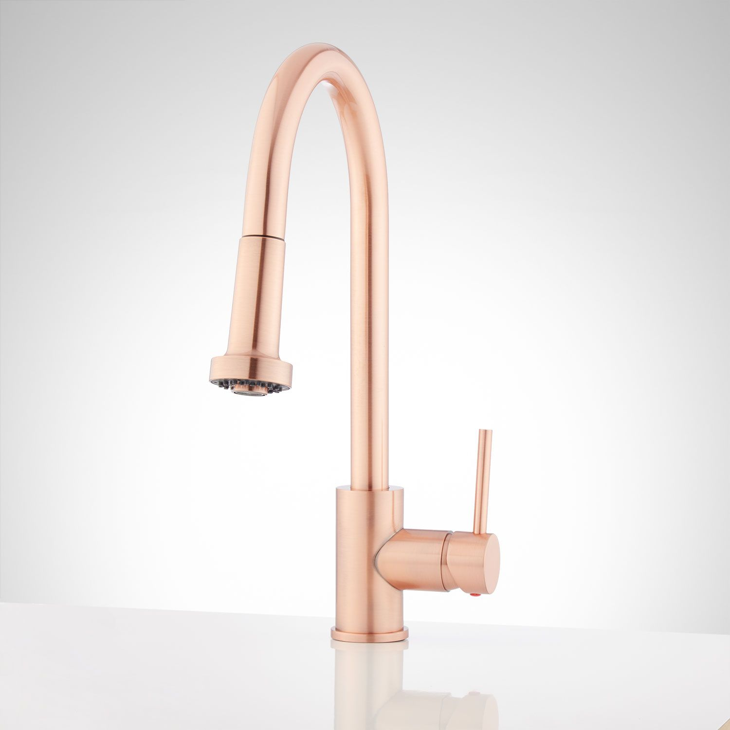 Royden Pull Down Kitchen Faucet In Copper Signature Hardware
