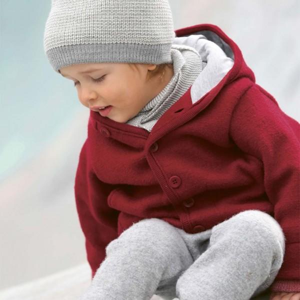 Walk-Jacke mit Knopfleiste in bordeaux | Kinderkleidung, Jacken, Kinder  kleidung