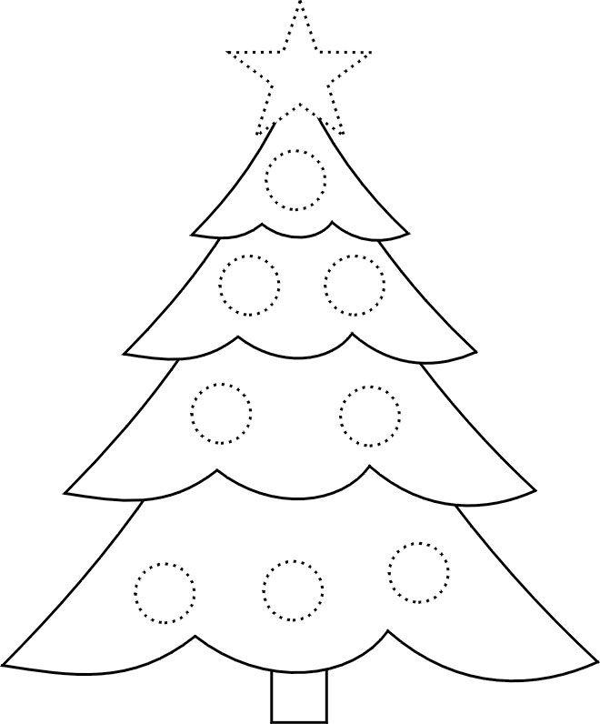 Картинки елочки новогодней для вырезания распечатать