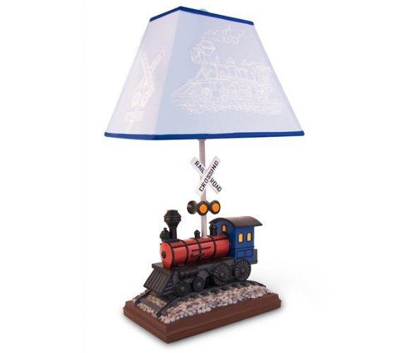 Train Table Lamp Petagadget, Train Table Lamp