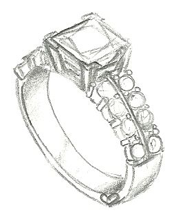 Pin on Custom Ring Sketches