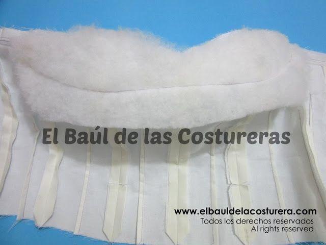Corset BC140 Colocación Ballenas Rigilene | Tutorial | Pinterest ...