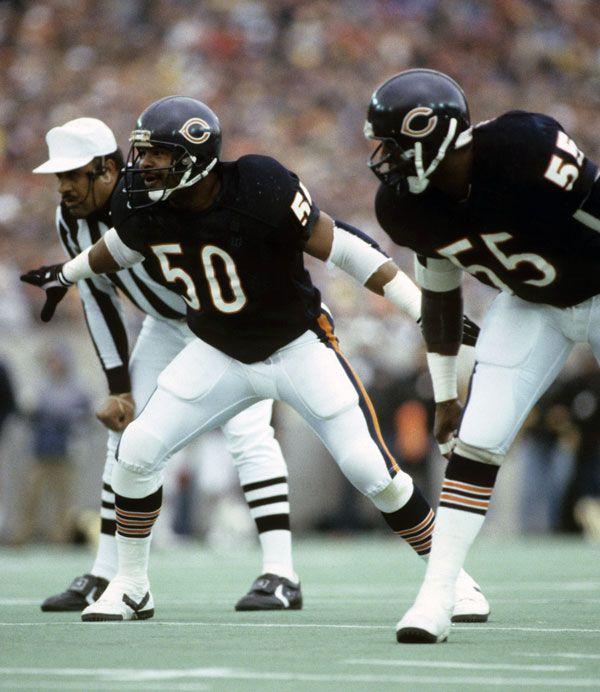 Chicago Bears Roster: Mike Singletary, LB - Chicago Bears