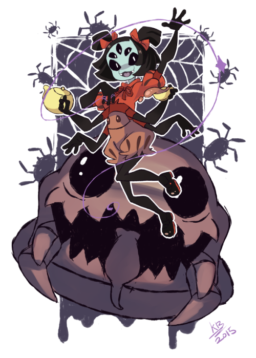 undertale spider girl - Google Search