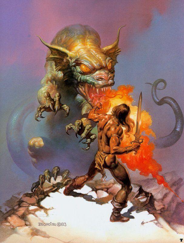 Boris Vallejo Fantasy Art
