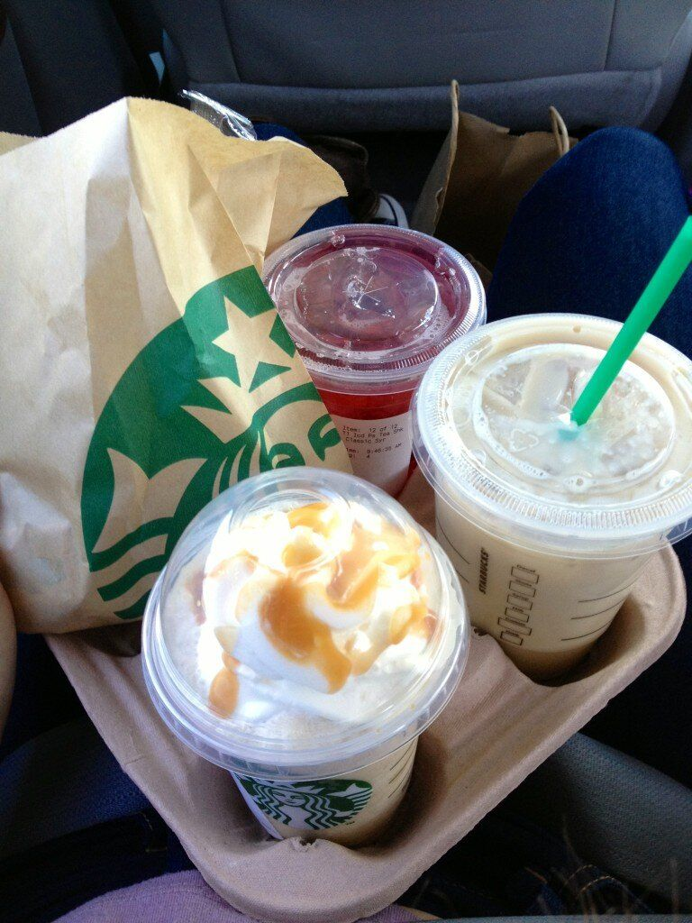 Nothing better than starbucks in the morning 6 food and
