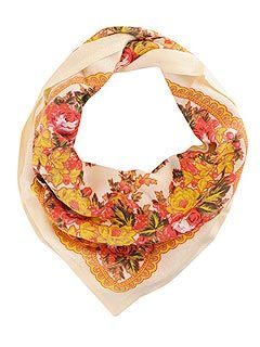 Bargain Buy: We just love Forever 21's adorable Floral Print Scarf ($7) — and so will she!