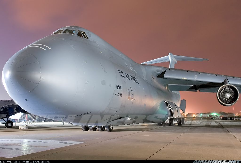 Lockheed C-5A Galaxy (L-500) aircraft picture