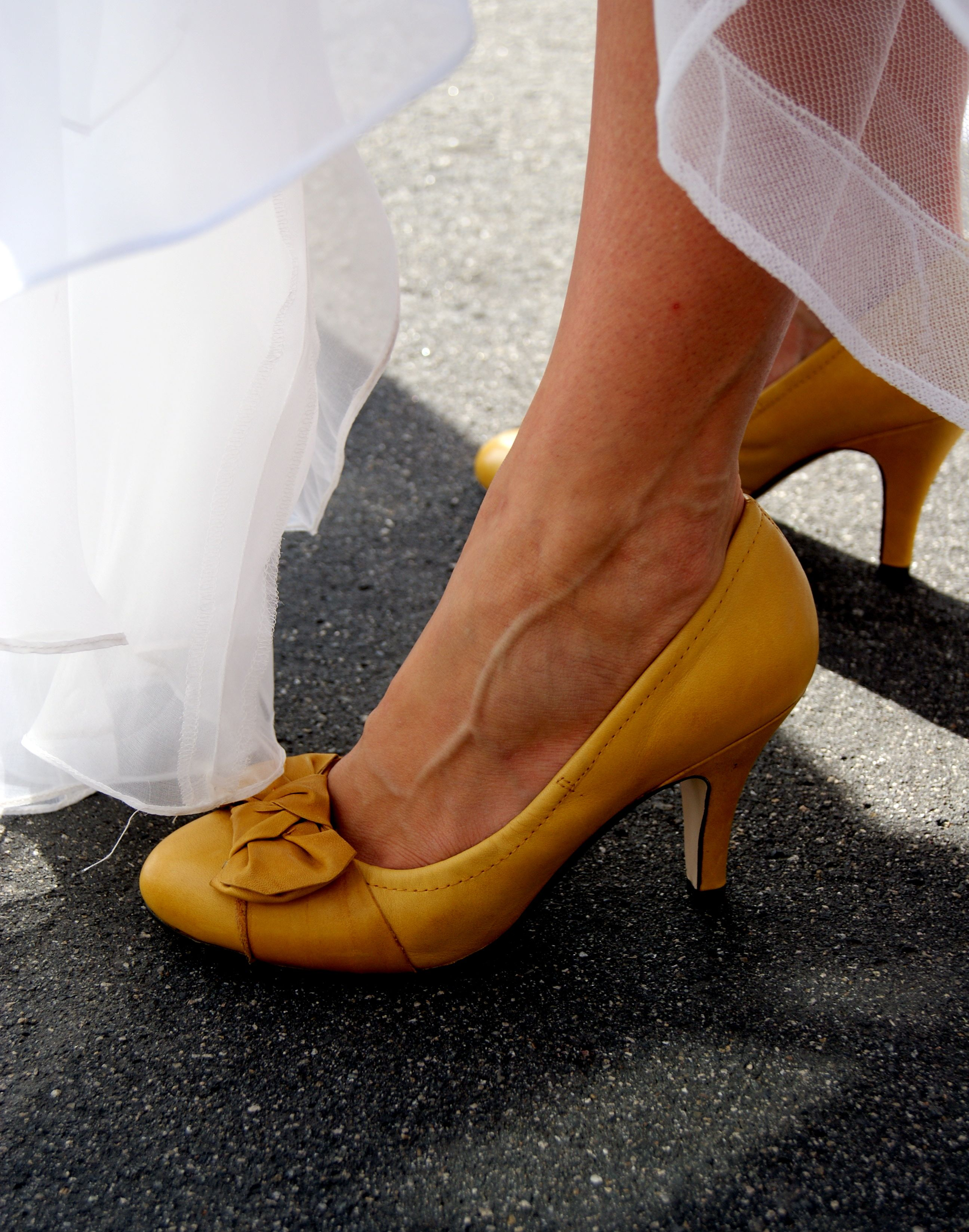 The Impossible To Find Mustard Yellow Wedding Shoes With Images