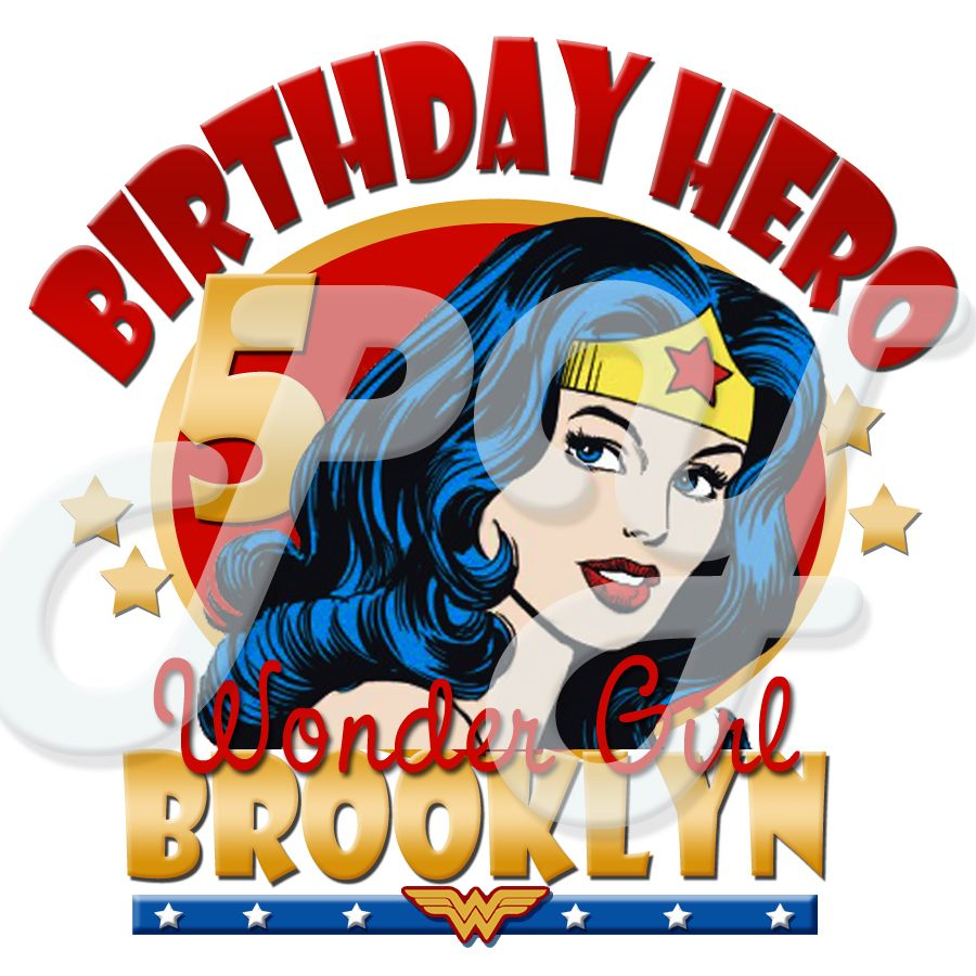 Wonder Woman Personalized Birthday T Shirt Shirts Unique