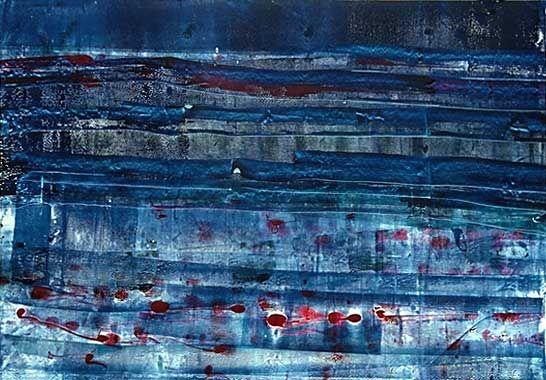 http://www.kunstbilder.de/galerie/detscher/bilder/03_Wasserschichten_gross.jpg #kunst #abstrakt #wasser #art #water #köln #künstlerin